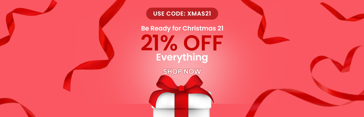Christmas 21 21% OFF Everything